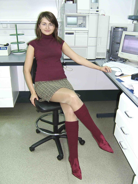 Fashion Tights Skirt Dress Heels  Boots Look-3262