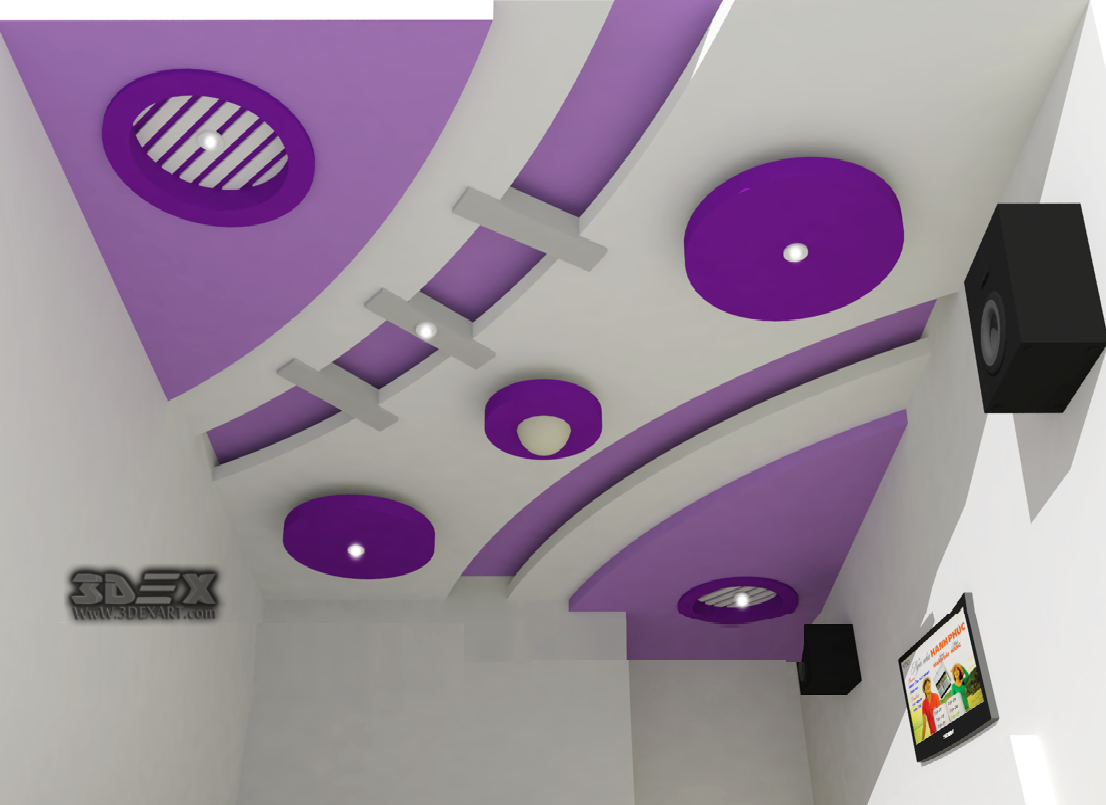 Pop false ceiling new design for Latest drawing room