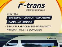 Jadwal F-TRANS Shuttle Bandung Sukabumi