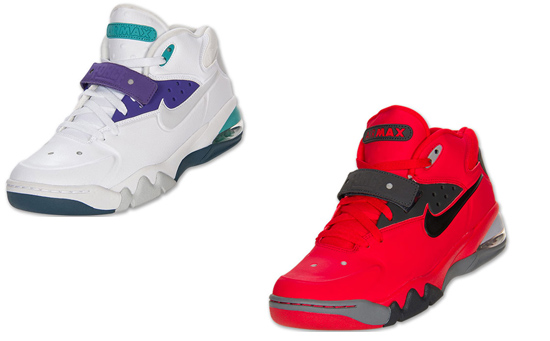 big sale 255da e82cd Nike Air Force Max 2013 Two Colorways Now Available