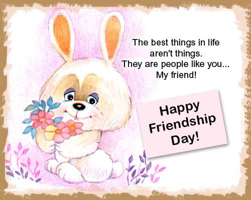 Happy Friendship Day Greetings for Brother