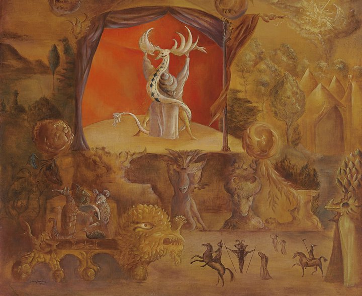 Leonora Carrington 1917-2011 | British-born Mexican Surrealist painter | Juggler