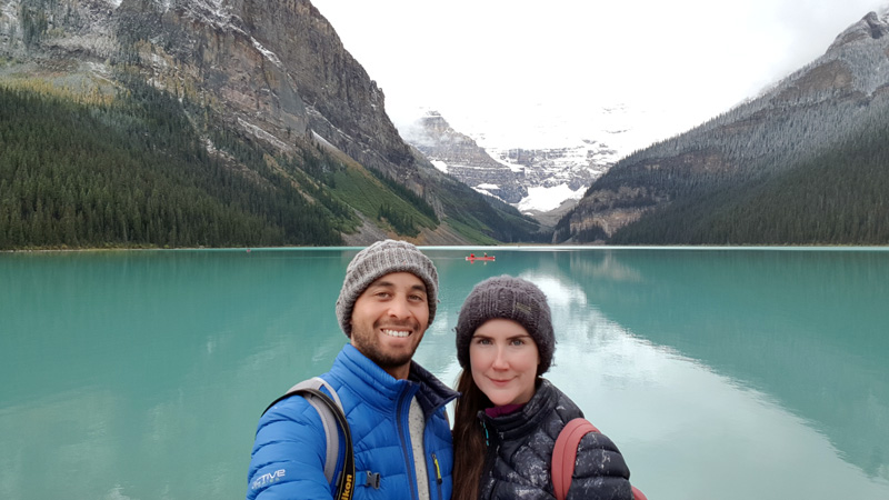 Lake Louise Colour Banff