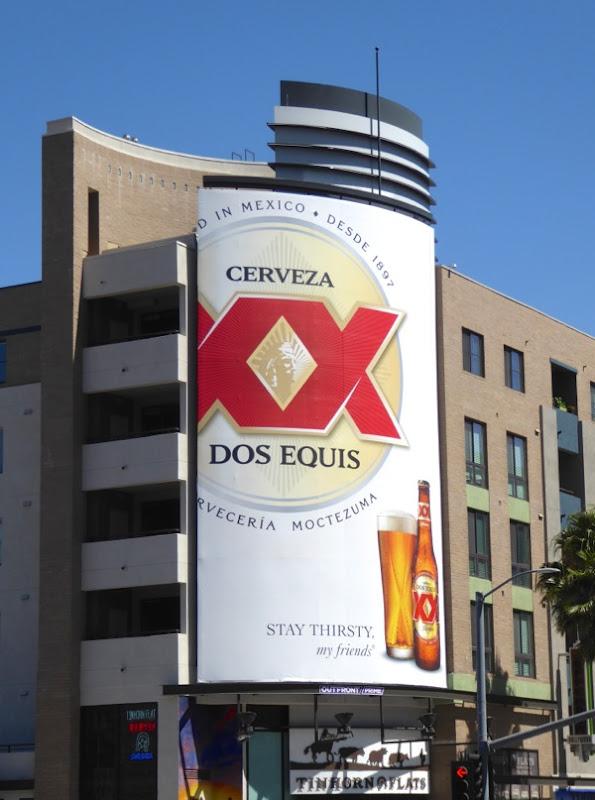 Cerveza XX Dos Equis 2016 beer billboard