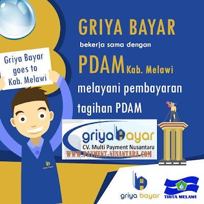 Daftar Griya Bayar PDAM Tirta Kabupaten Melawi Kalimantan Barat