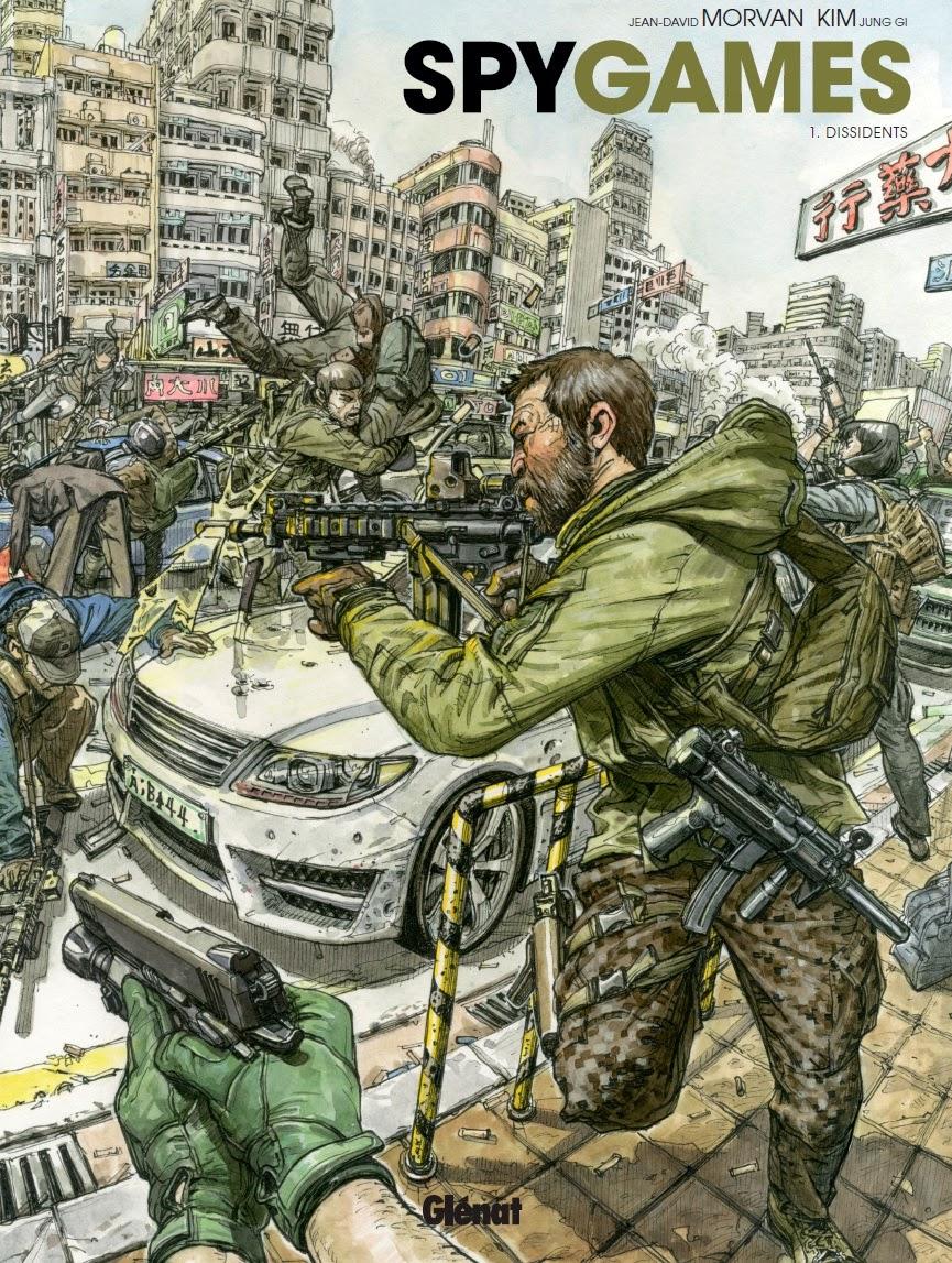 SpyGames tome 1: dissidents chez Glénat