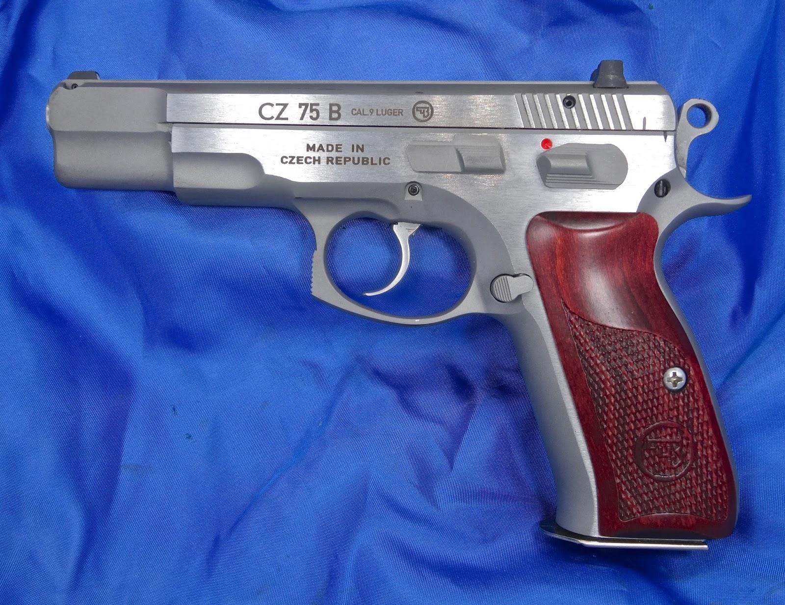 Cz 75 B Matte Stainless Gun Shop Near Minneapolis Mn