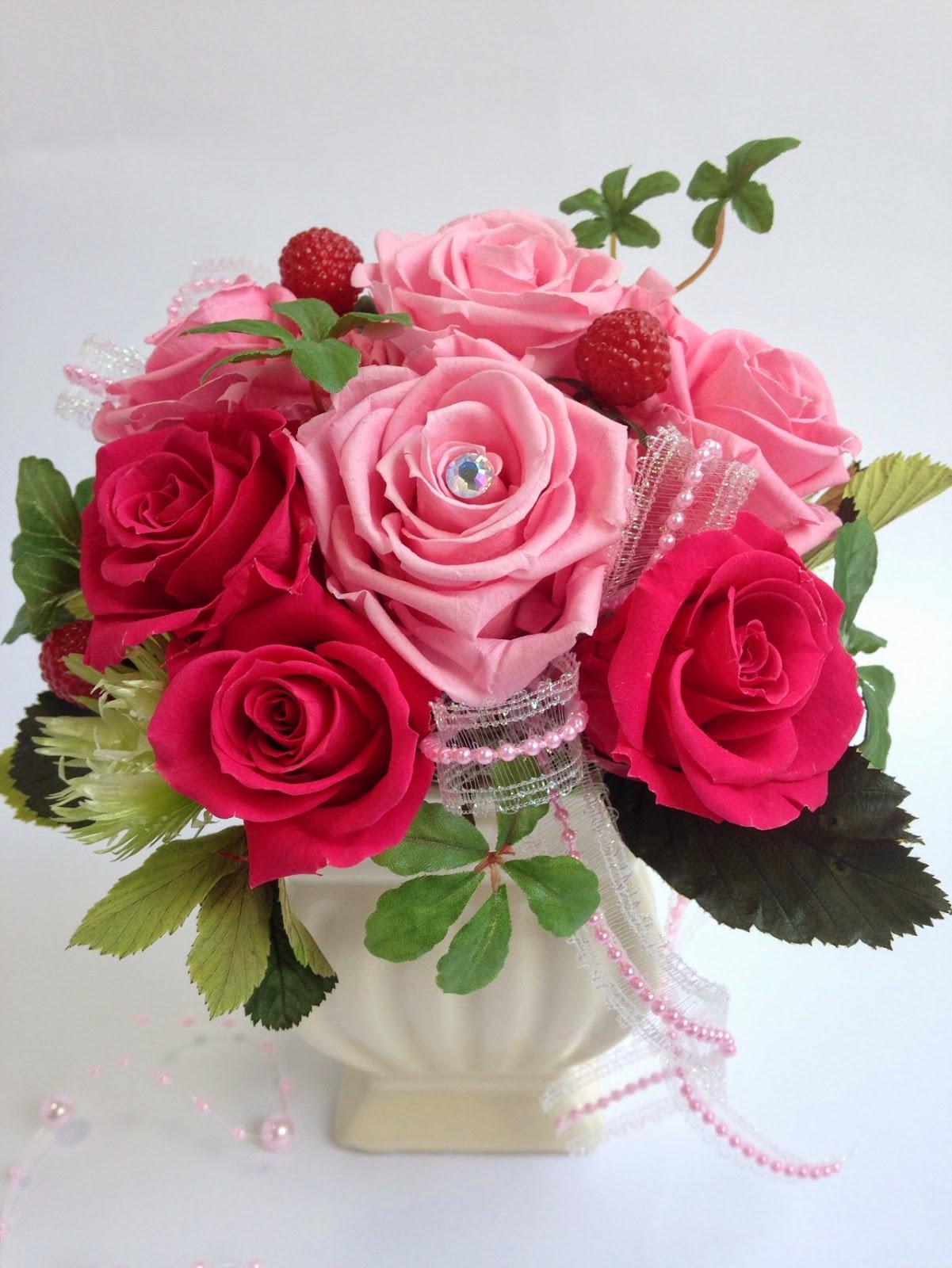プリザーブドフラワー贈呈花