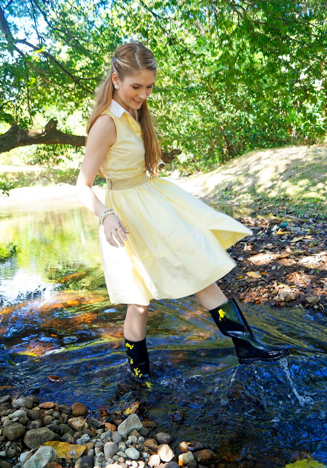 Rain Boots are a great option for Spring Outfits!