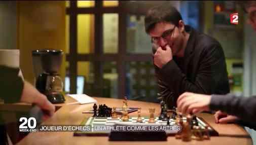 Maxime Vachier-Lagrave au JT de 20h de France 2