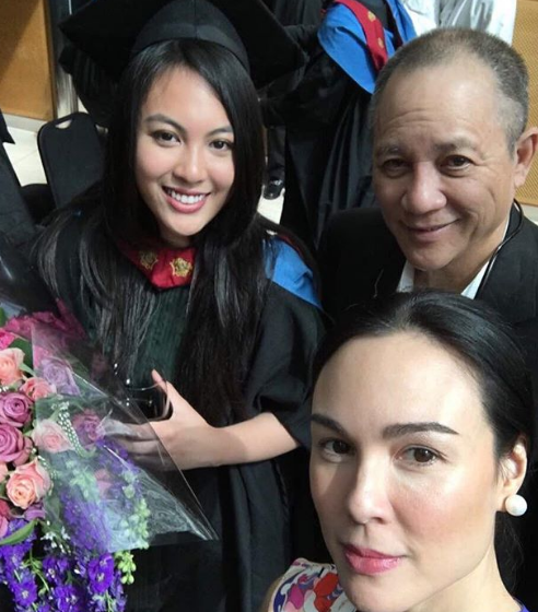 Dominique Cojuangco graduates in fashion design