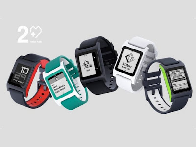 Pebble 2 smartwatch ePaper LCD display specs and pre-order