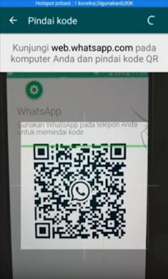 Scan Kode Batang HP Untuk Menyadap