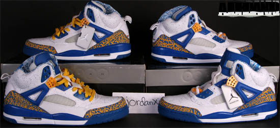 super popular 86a4a f23c0 Jordan Spiz ike White Varsity Red-Argon Blue-Pro Gold (2007)