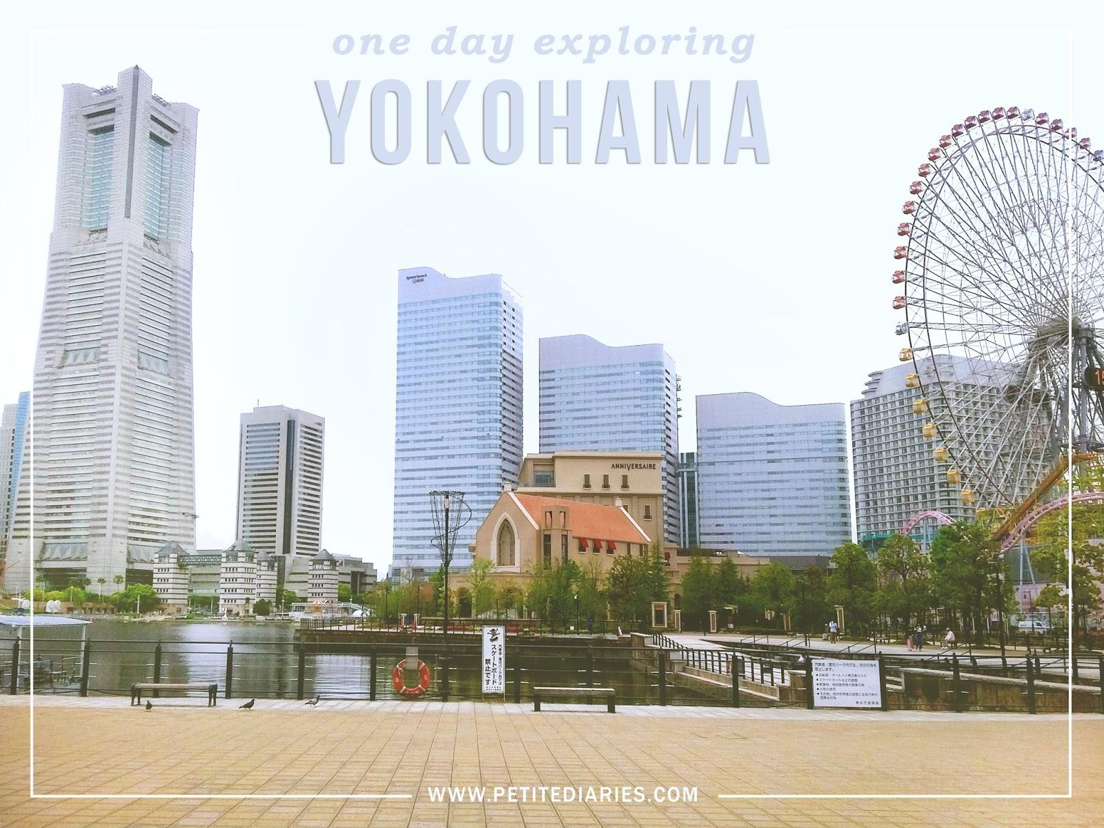 travel to YOKOHAMA in a day