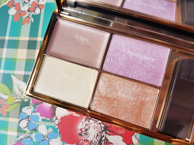 Sleek MakeUP Highlighting Palette in Solstice | Review & Swatches