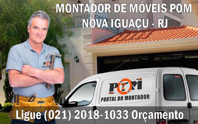 Montagem de Móveis Nova Iguaçu RJ (021) 2018-1033