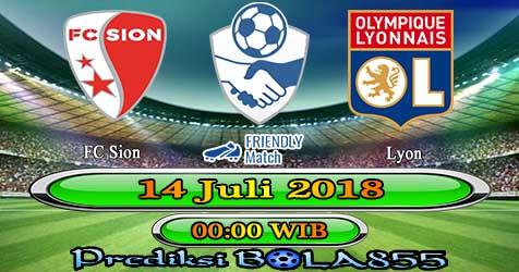 Prediksi Bola855 Sion vs Lyon 14 Juli 2018