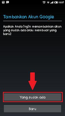 Cara Masuk ke Akun Google Untuk Aktifkan Playstore di Hp Android baru