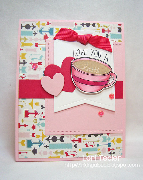 Love You a Latte-designed by Lori Tecler-Inking Aloud-stamps and dies from Reverse Confetti