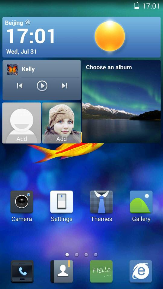 Ios 7 theme for huawei ascend p6 huaweinews.