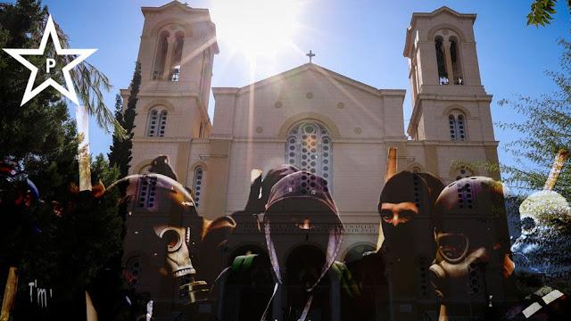 Επίθεση του Ρουβίκωνα στον Ιερό Ναό Αγίου Νικολάου στο κέντρο της Αθήνας