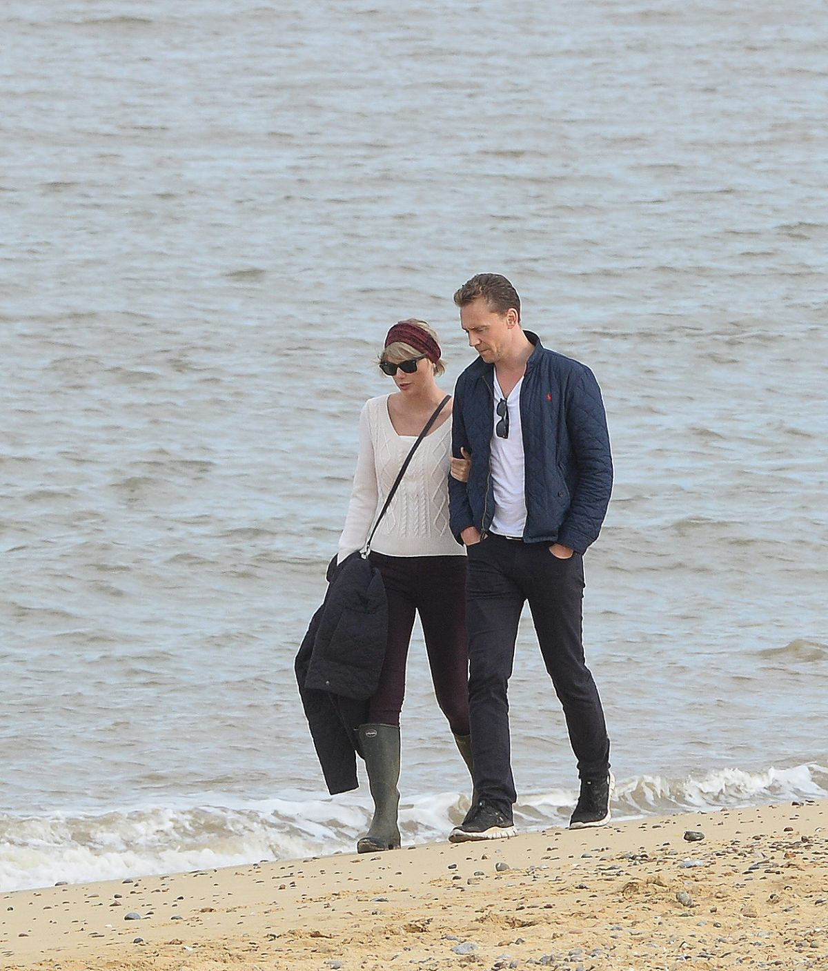 Taylor Swift and Tom Hiddleston out in Suffolk