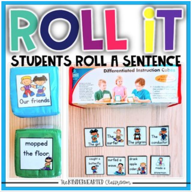 The Kinderhearted Classroom sentence practice