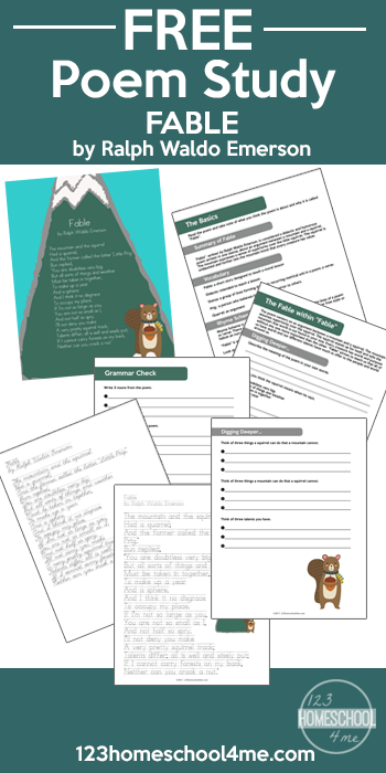 Free Ralph Waldo Emerson Worksheets Poetry For Kids