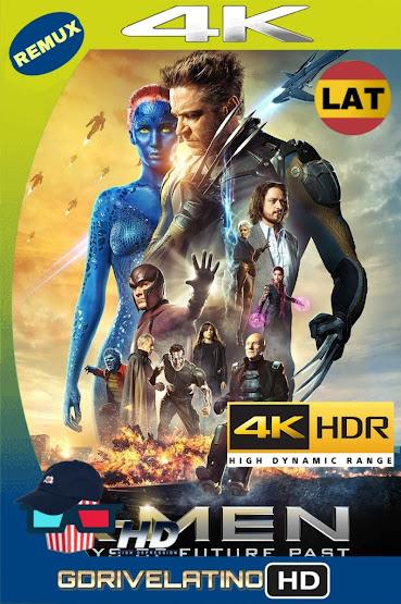 X-Men: Días del Futuro Pasado (2014) BDRemux 4K HDR Latino-Ingles MKV
