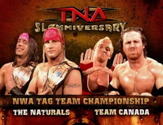 TNA Slammiversary 2005 - The Naturals vs. Team Canada