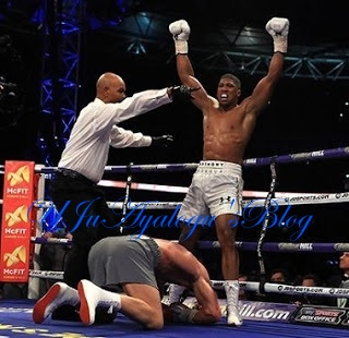 How British-Nigerian Anthony Joshua Emerges Heavyweight World Champion
