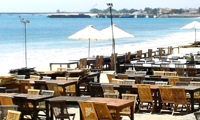 Jimbaran Beach Seafood Restaurant - Tanjung Benoa, Beach, Water Blow, Nusa Dua, Bali, Holidays, Tours, Attractions