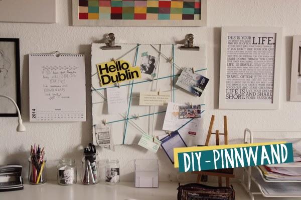 kuddelmuddel diy pinnwand. Black Bedroom Furniture Sets. Home Design Ideas