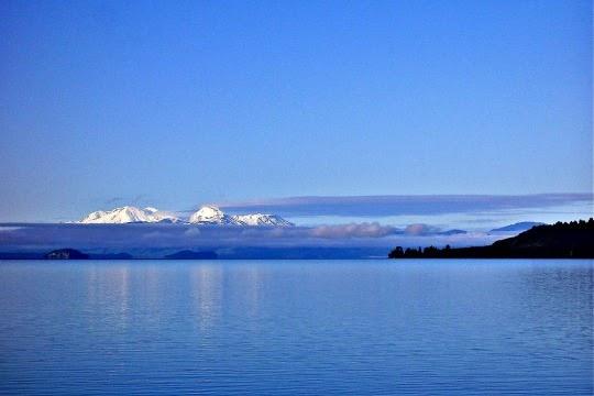 Danau Taupo, Selandia Baru