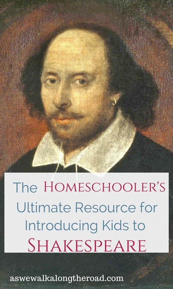 Learn About Shakespeare for Kids: Homeschoolers