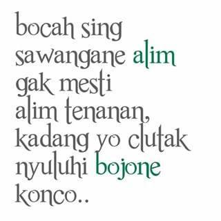 DP BBM Lucu Gokil Bahasa Jawa
