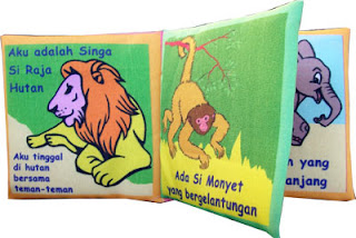 Mainan Edukatif Buku