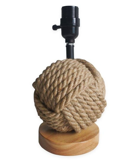 Rope Knot Ball Table Lamp Base