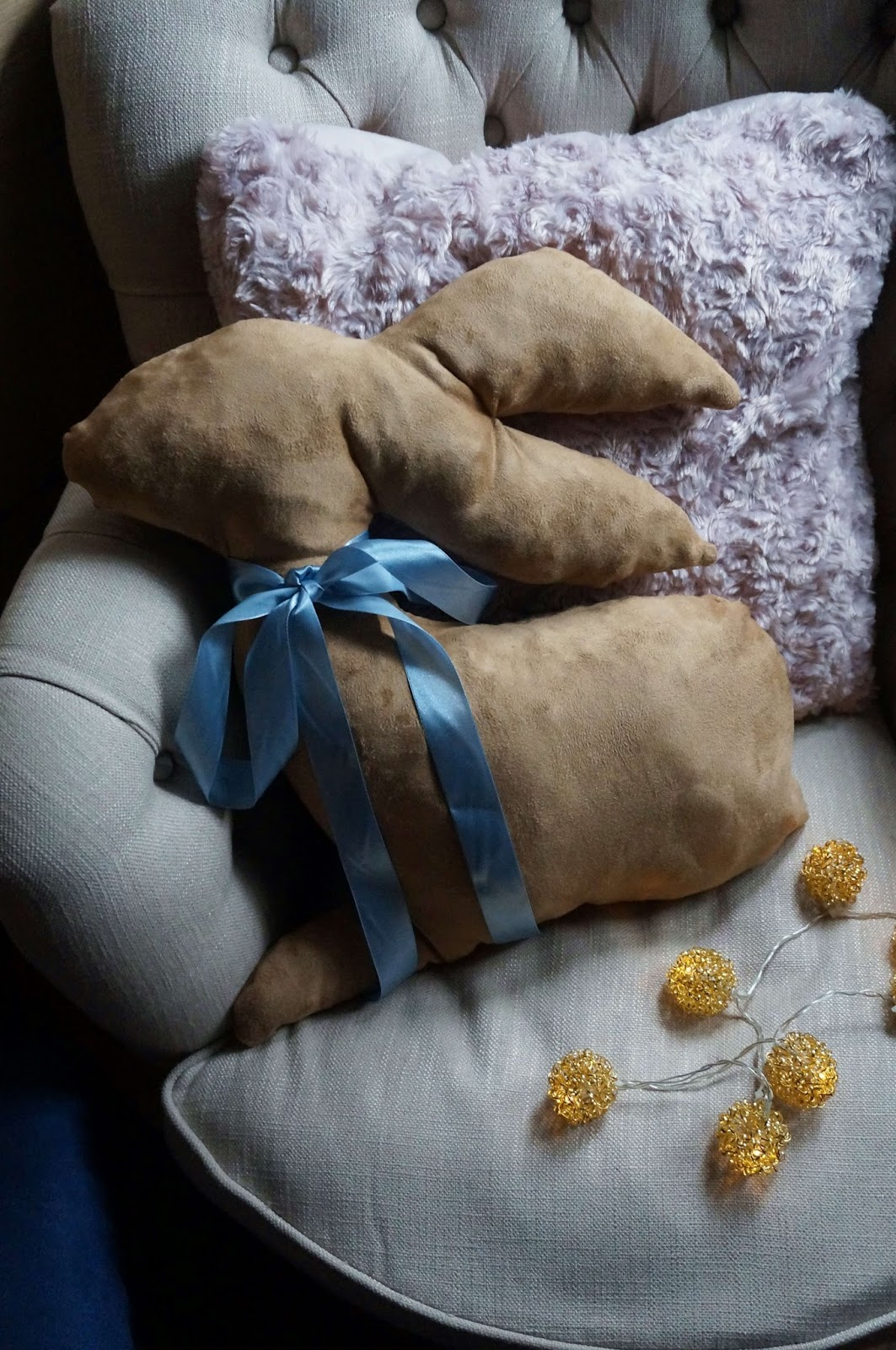 Wielkanocna poduszka Króliczek