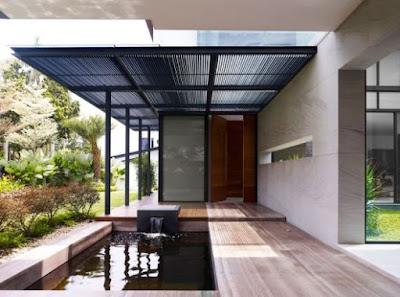 [Terbaru] 15 Desain Istimewa Kanopi Rumah Minimalis 2019 2