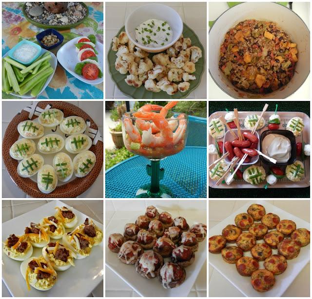football%2Bparty%2Bsnacks Weight Loss Recipes Healthy Super Bowl Recipes and Ideas