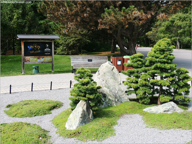 Jardín Japonés del Jardín Botánico de Montreal: Rocas