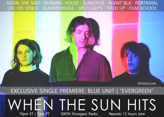 Your resource for all things shoegaze and dream pop: TONIGHT! WTSH