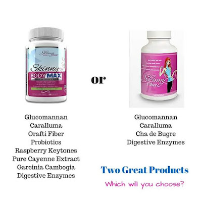 What is the difference between Skinny Body Max and Skinny Fiber? Check out the ingredients list to learn more!