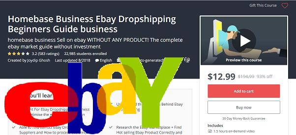 422a7515e3148 كورس بيع على موقع ايباي أي منتج دليل السوق ايباي كاملة Homebase Business  Ebay Dropshipping Beginners Guide business English - Younes Pro