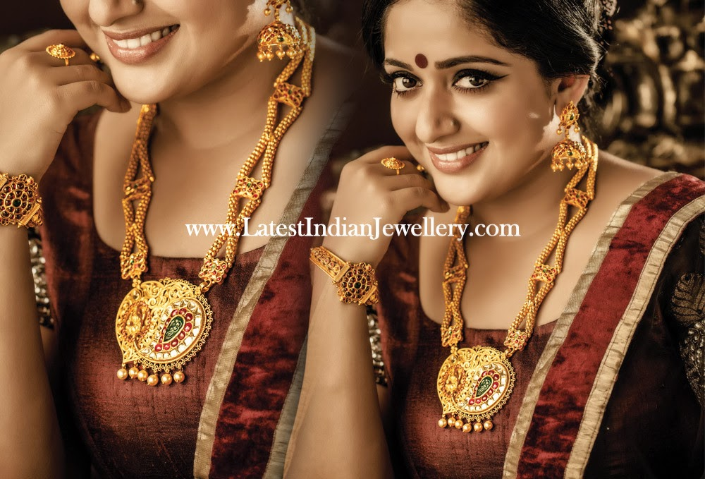 Dubai Gold And Diamonds Kavya Madhavan Latest Ad Hd: Kavya Madhavan In Contemporary Gold Jewellery