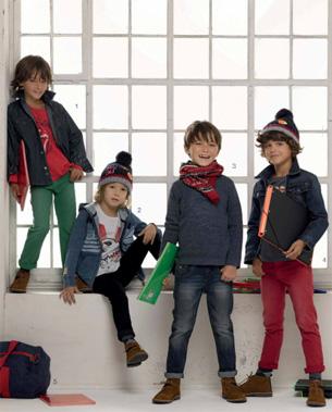 colección moda infantil niños vuelta al cole El Corte Inglés