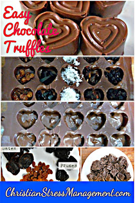 Chocolate and date truffles recipes for stress management meditation