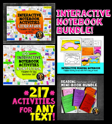 Interactive Notebook Bundle traceeorman.com